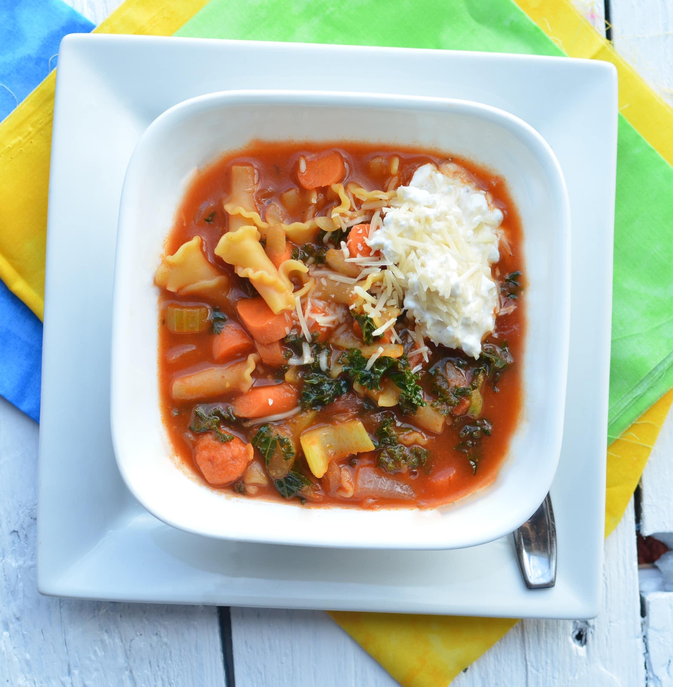 Lasagna Vegetable Soup Healthy Ideas For Kids