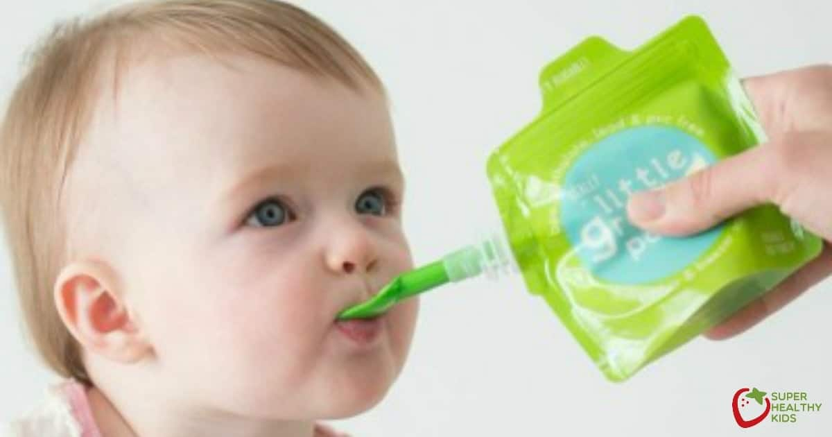 5 Super Healthy Baby Food Recipes For Squeeze Pouches