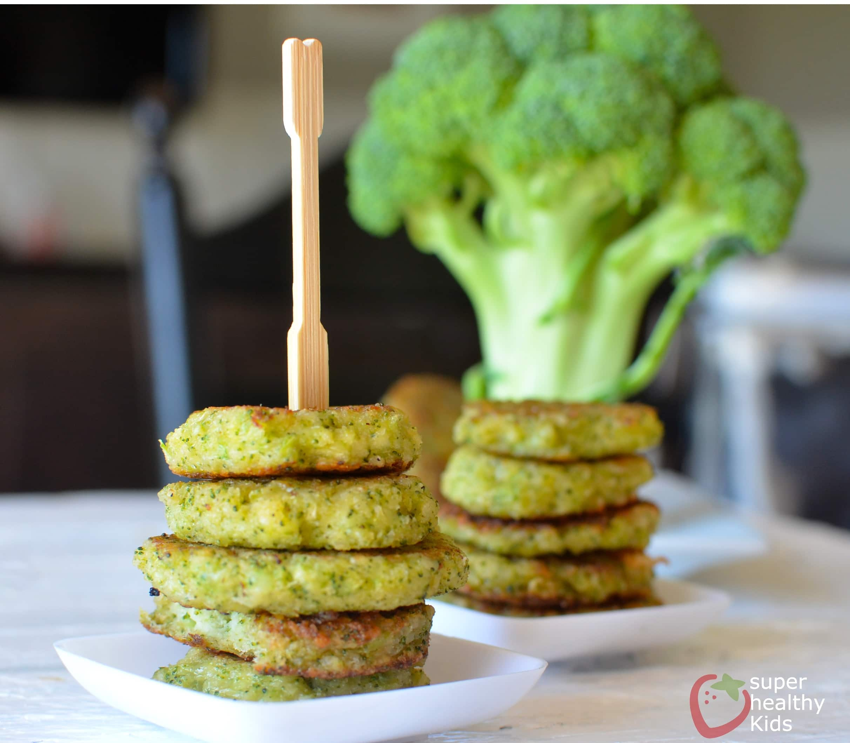 Cheesy Broccoli Bites Recipe Super Healthy Kids