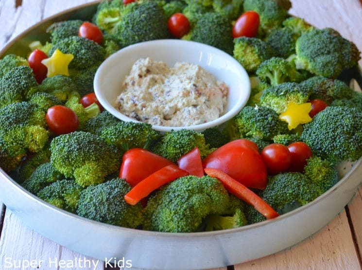 broccoli wreath super healthy kids