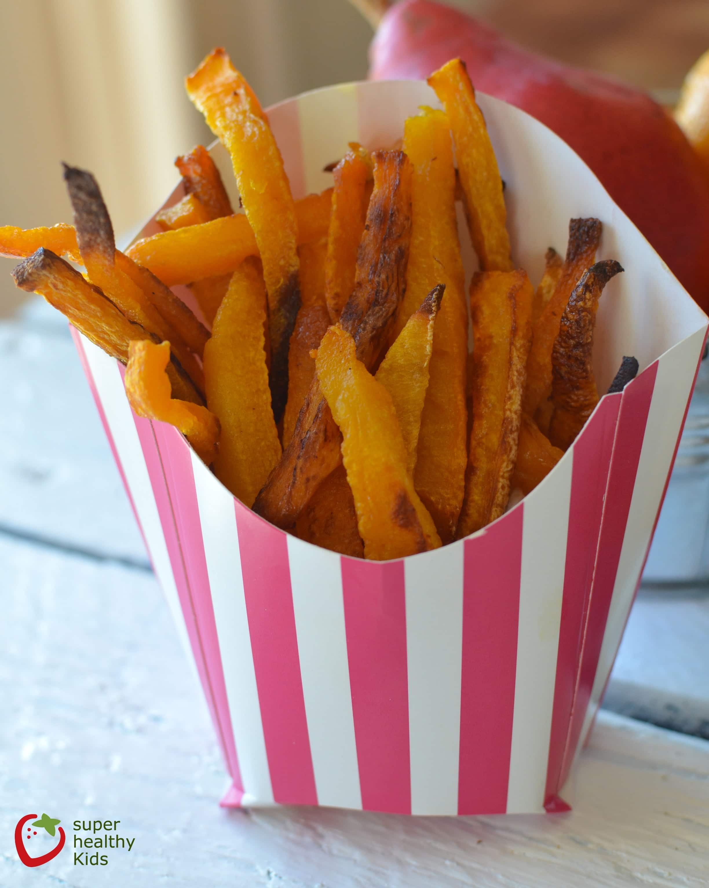 Sweet and Salty Butternut Squash French Fries Recipe | Healthy Ideas ...