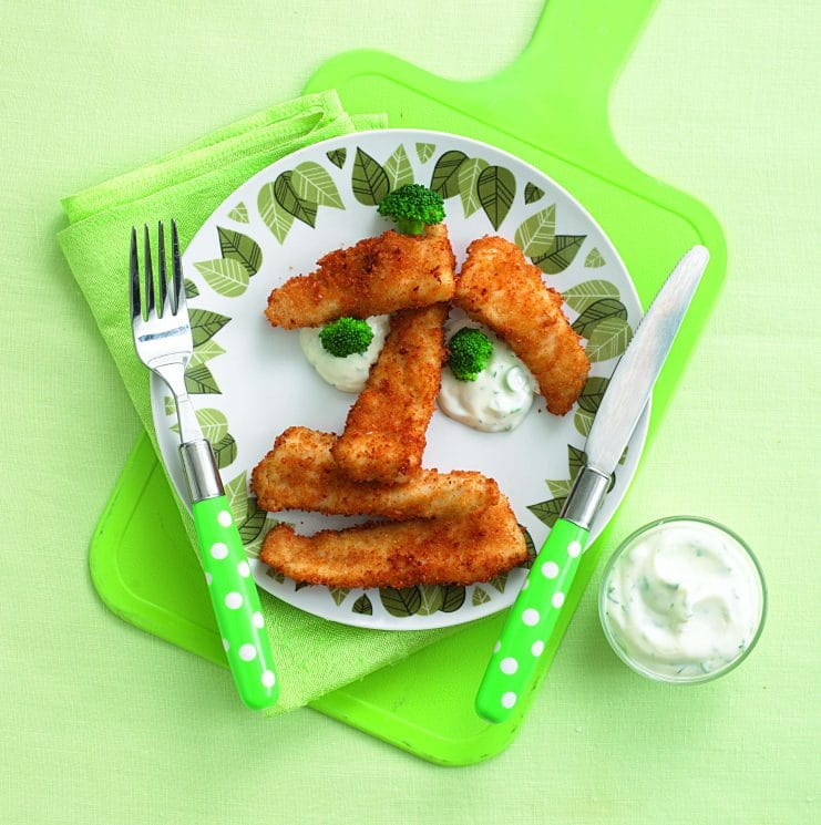 Homemade Fish Sticks Recipe - Meals In Minutes. You don't need a lot of time to get this meal on the table!