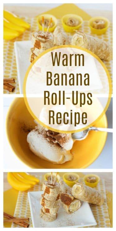 warm banana rollups