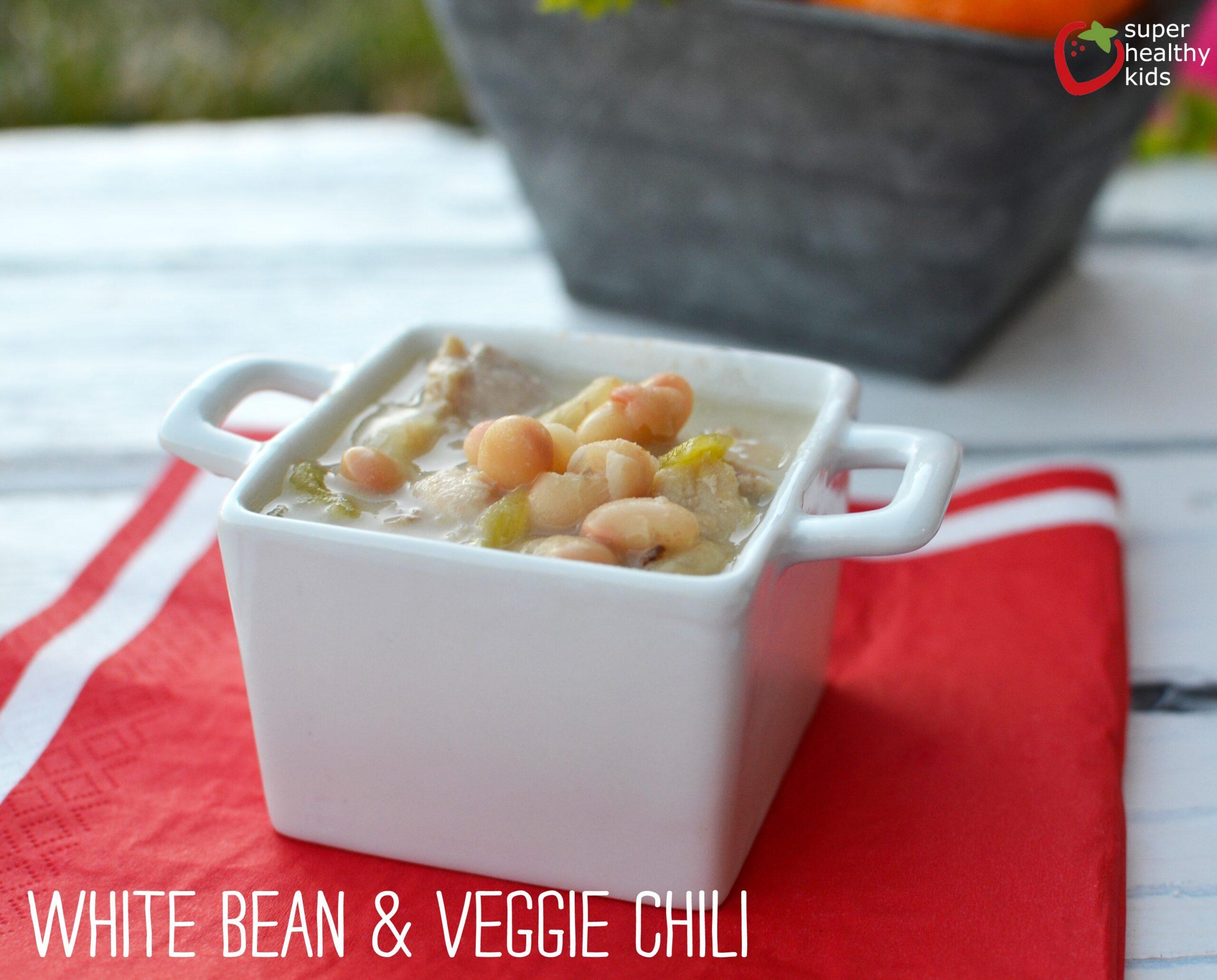 White Bean One Pot Chili Recipe Healthy Ideas For Kids
