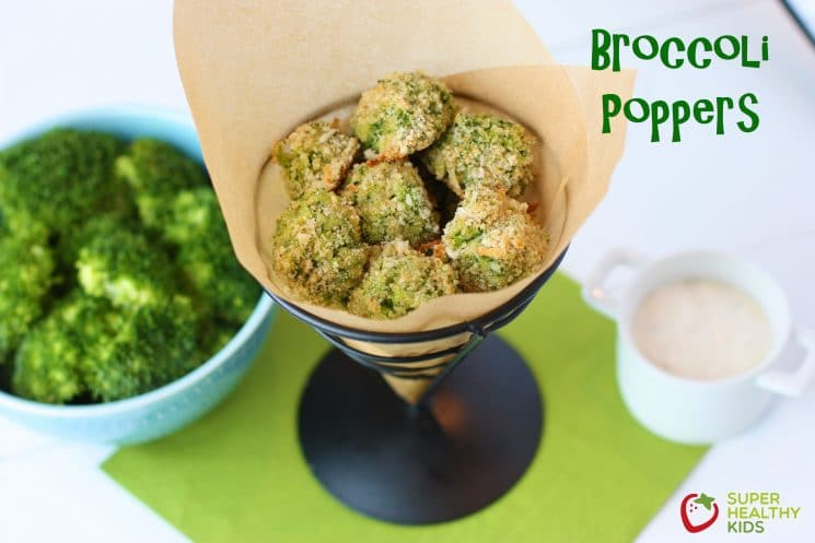 Broccoli Poppers Recipe. If your kids don't love broccoli yet, you'll be shocked at how irresistable they find these!
