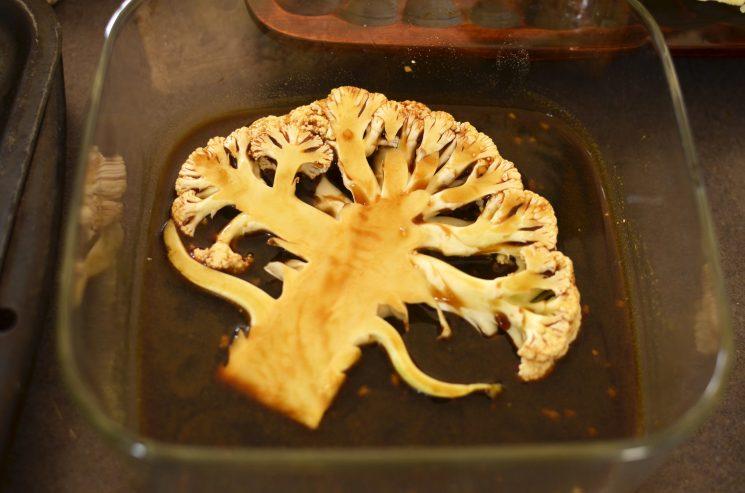 marinating cauliflower
