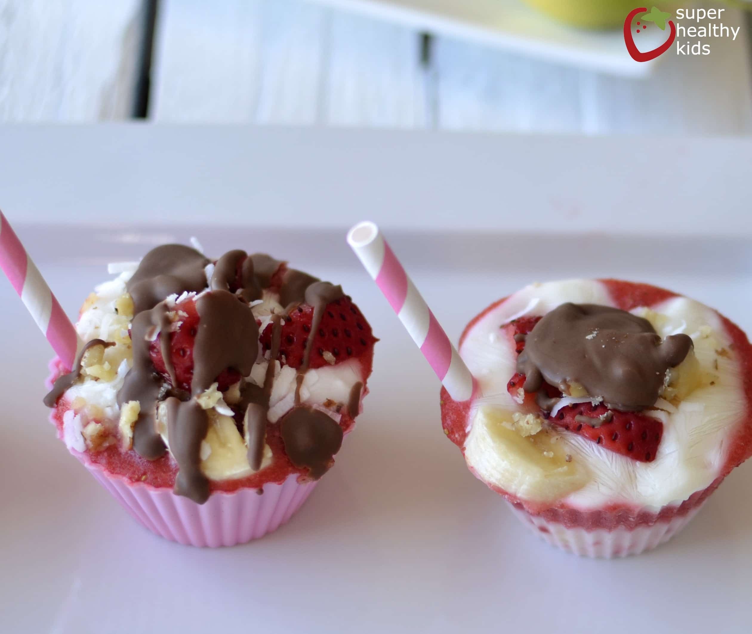 Mess-Free Banana Split Bites Recipes — Dishmaps