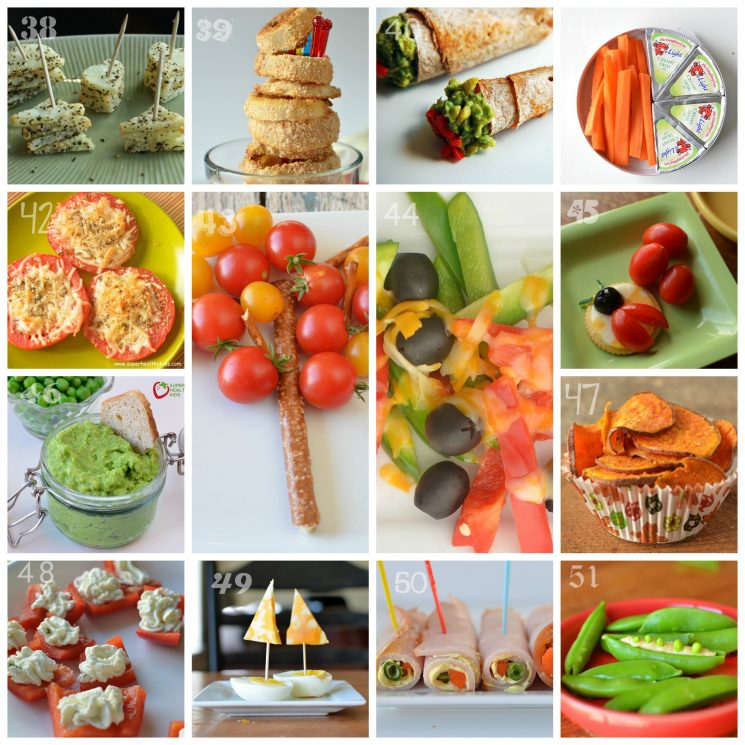 21 Days of Things to Do with A Picky Eater, different healthy snacks