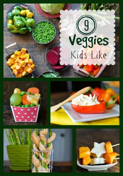 FOOD - 9 Vegetables Kids Like That Might Surprise You. We have 9 vegetables kids like and different ways to serve them. https://www.superhealthykids.com/9-vegetables-kids-like-that-might-surprise-you/
