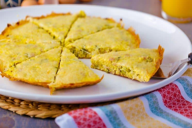 High Protein Breakfast Frittata