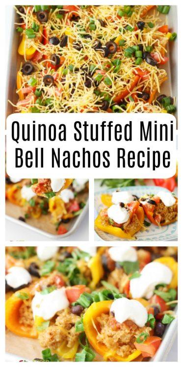 Quinoa Stuffed Mini Bell Nachos Recipe