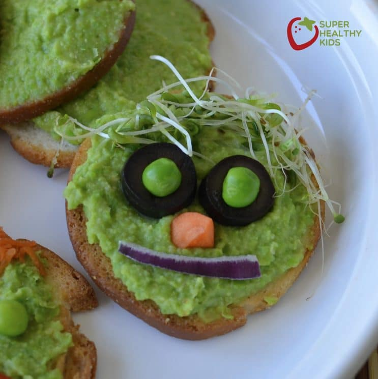 Fresh Green Pea Hummus Recipe. Have you tried hummus this way before?