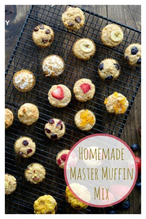 Homemade Master Muffin Mix