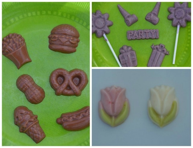 Ice Cream Flavored Yogurt Gummies. Aren't these the cutest things! We could add them to a cake for decorating too!