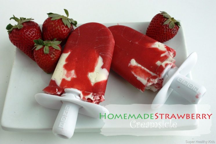 Top 15 Healthy Strawberry Popsicles Recipes. These are the best strawberry popsicles on the internet! Sweet yummy strawberries and so much more!