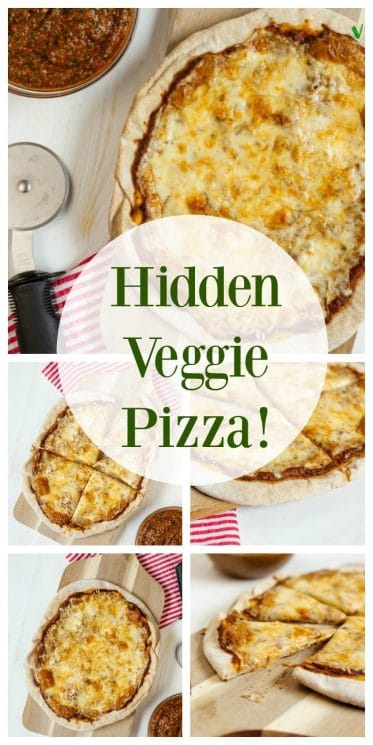 Food and Recipes- Hidden Veggie PIzza