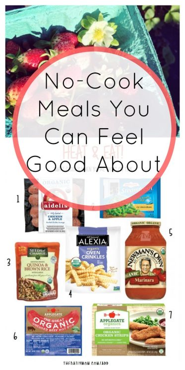 No-Cook Meals You Can Feel Good About