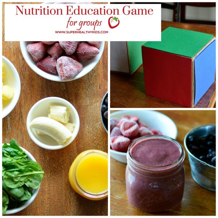 Nutrition Activity for Kids. Nutrition lesson mini game! Perfect for small or large groups.