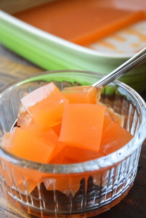 All Natural Homemade Fruit Juice 'Jello'. No more from the box jello with added sugars and artificial ingredients! www.superhealthykids.com