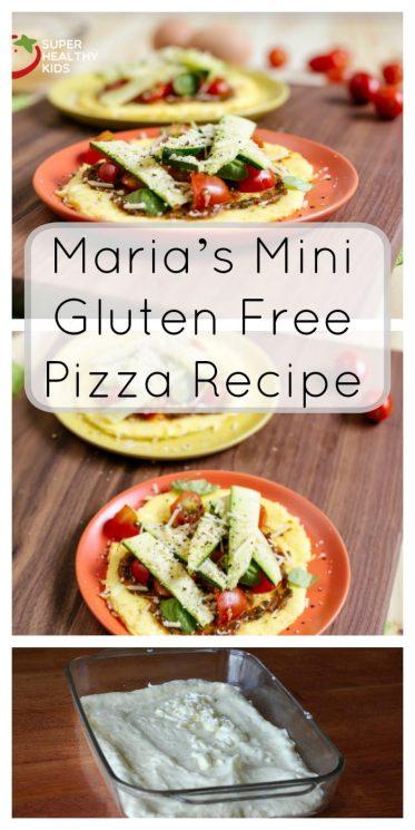 Maria's Mini Gluten Free Pizza Recipe