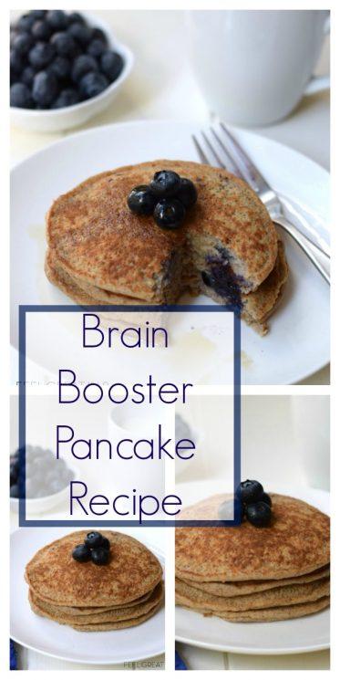 Brain Booster Pancake Recipe