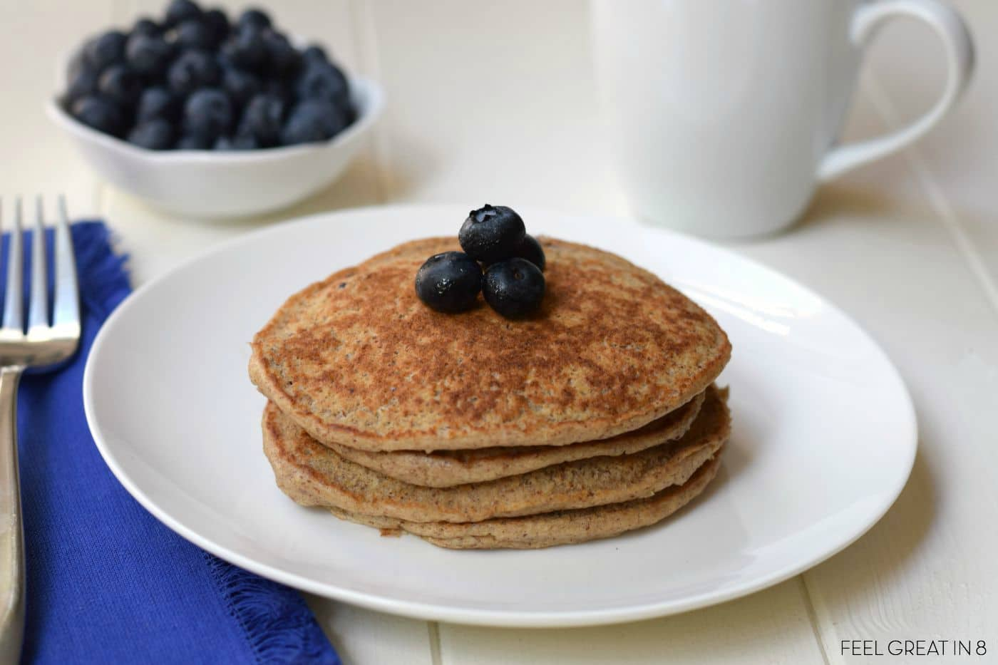 With school starting, you will want these pancakes on your breakfast rotation!
