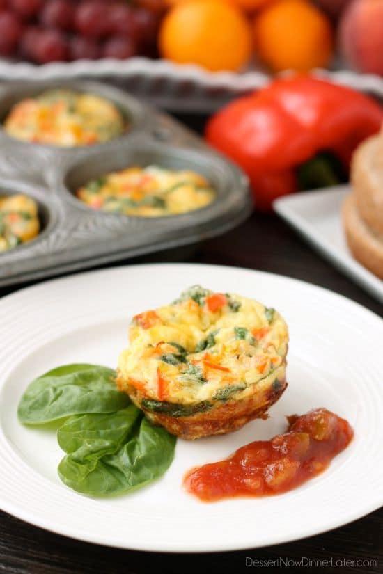 Breakfast Egg Cups Recipe Super Healthy Kids