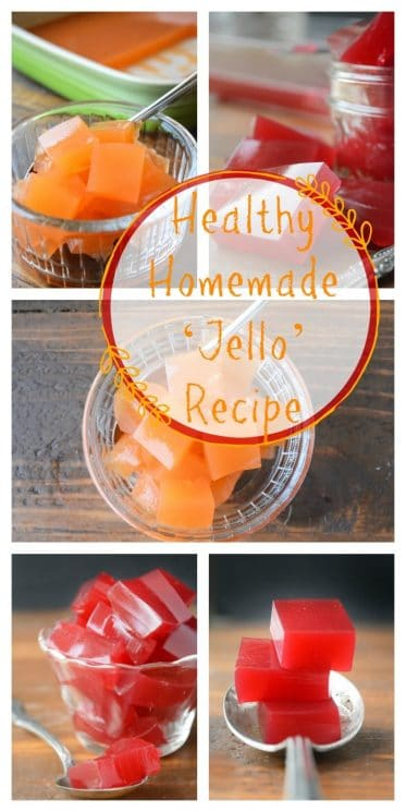 Healthy Homemade 'Jello' Recipe