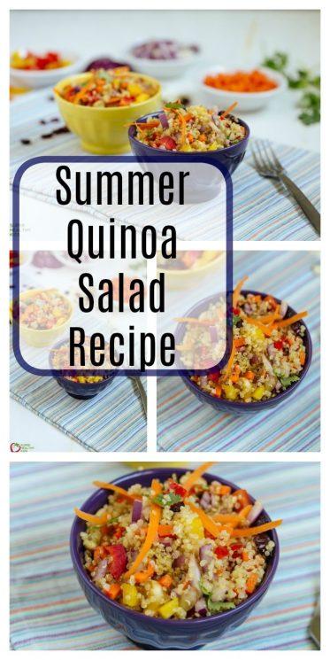 Summer Quinoa Salad Recipe
