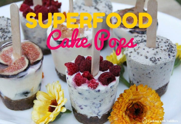 Super Food Cake Pops. Let your kids make their own with these yummy and super healthy options! www.superhealthykids.com