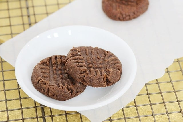 chia chocolate cookie healthy dessert idea for kids