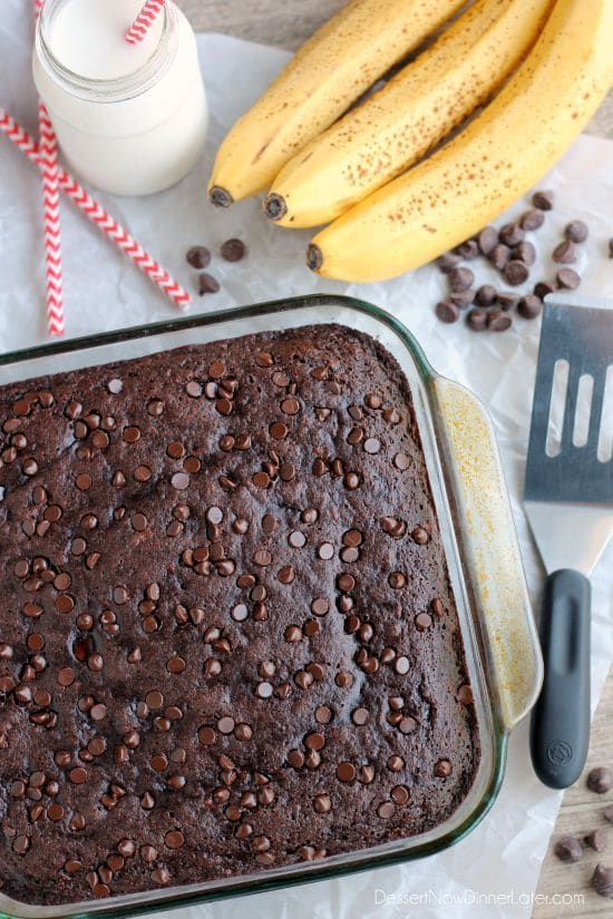 Double Chocolate Banana Cake Healthy Ideas For Kids