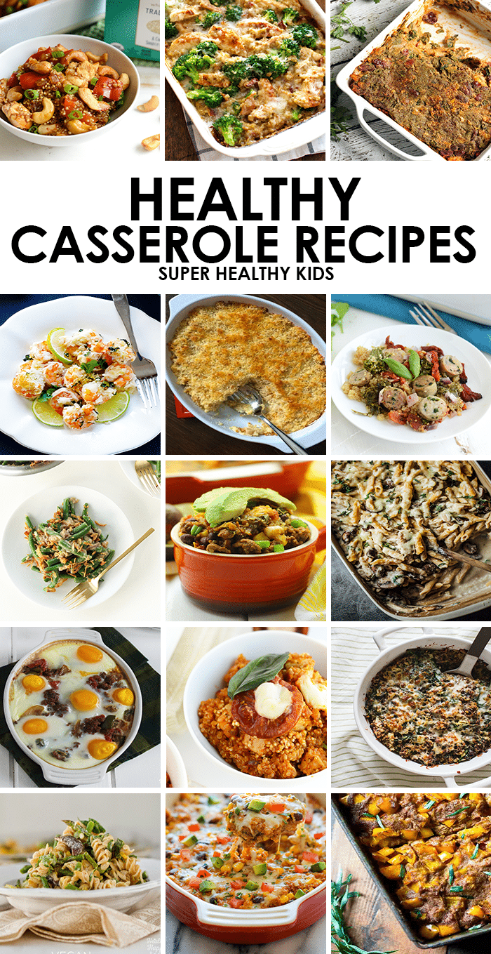 15 Kid-Friendly Healthy Casserole Recipes. Looking for an easy-to prep dinner that's packed with superfoods and kid-friendly? Make one of these healthy casserole recipes! www.superhealthykids.com