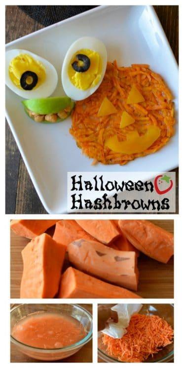 Halloween Hash Browns Breakfast Recipe
