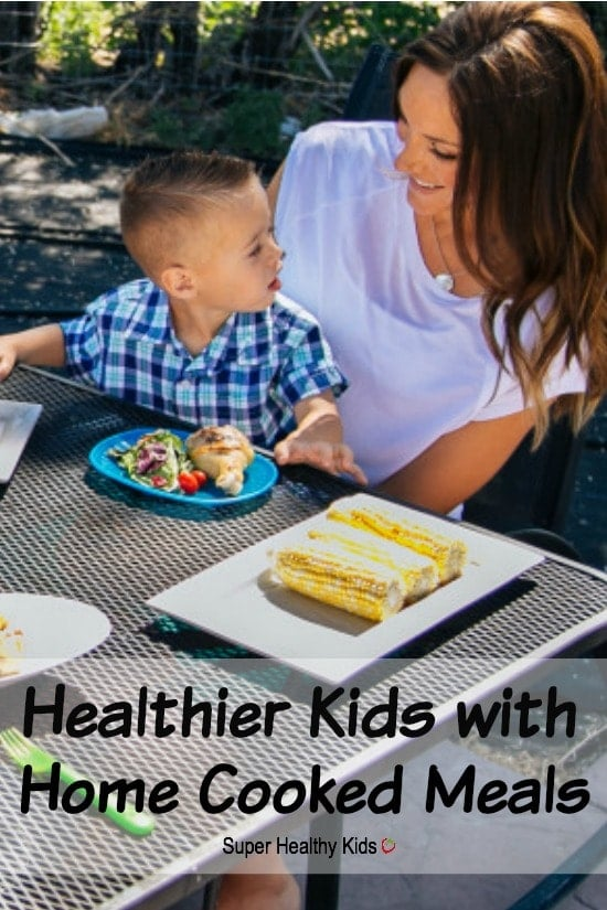 Healthier Kids with Home Cooked Meals? Your efforts to provide your family with home cooked, nutritious meals are so important!