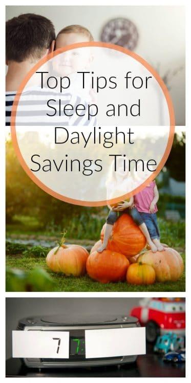 Top Tips for Sleep and Daylight Savings Time