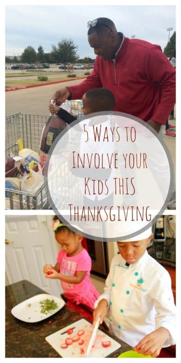 5 Ways to Involve your Kids THIS Thanksgiving