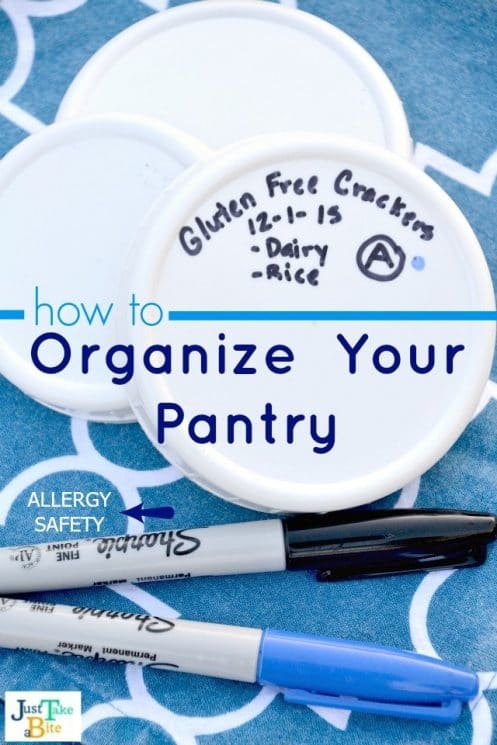 How To Organize Your Pantry For Allergy Safety. If you have kids with food allergies, you NEED these tips! www.superhealthykids.com