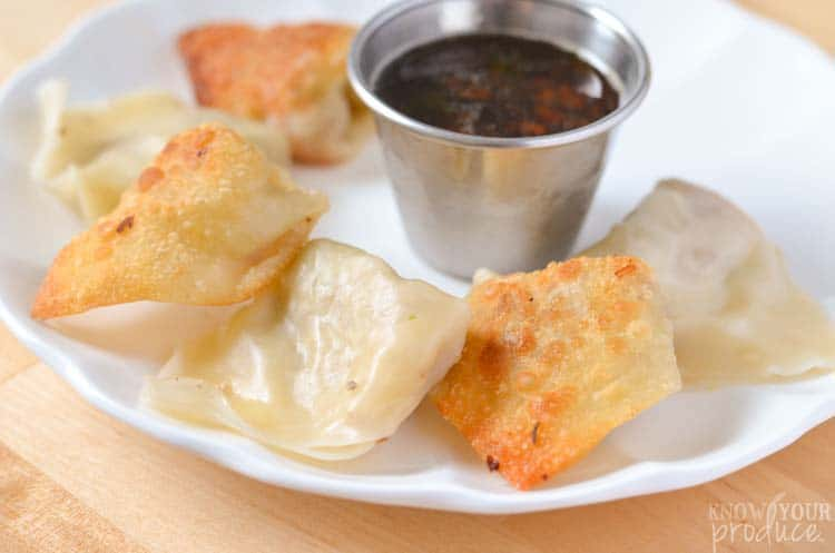 Pork and Vegetable Deconstructed Pot Stickers - Pot Stickers and Dumplings Recipe