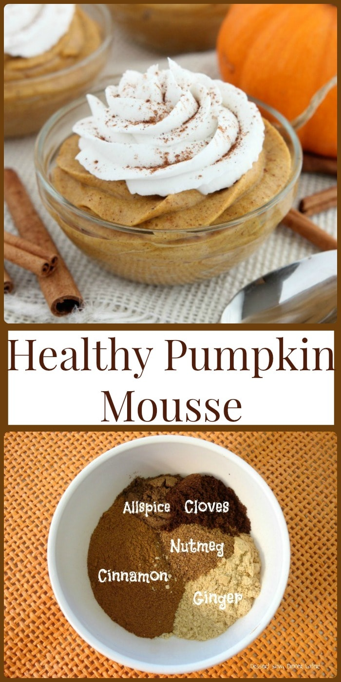 Food and recipes- Healthy Pumpkin Mousse!