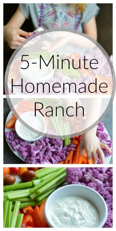 5-Minute Homemade Ranch
