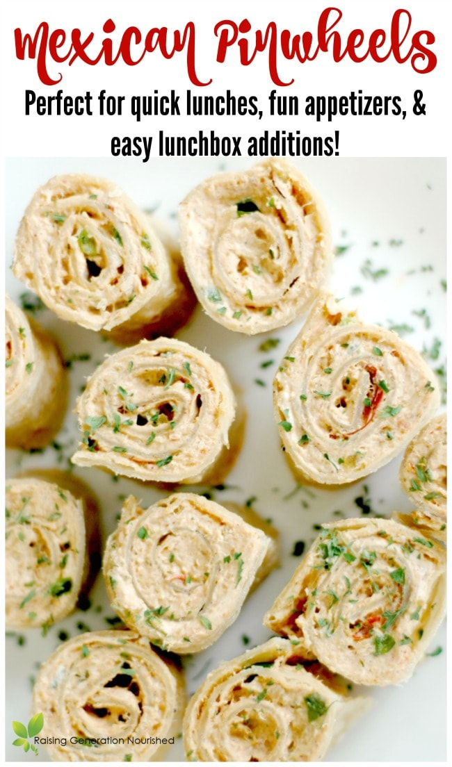 Mexican pinwheels perfect for quick lunches fun appetizers and mexican pinwheels perfect for quick lunches fun appetizers and easy lunchbox additions forumfinder Choice Image