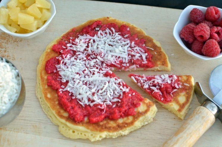 Breakfast Pizza Pancakes