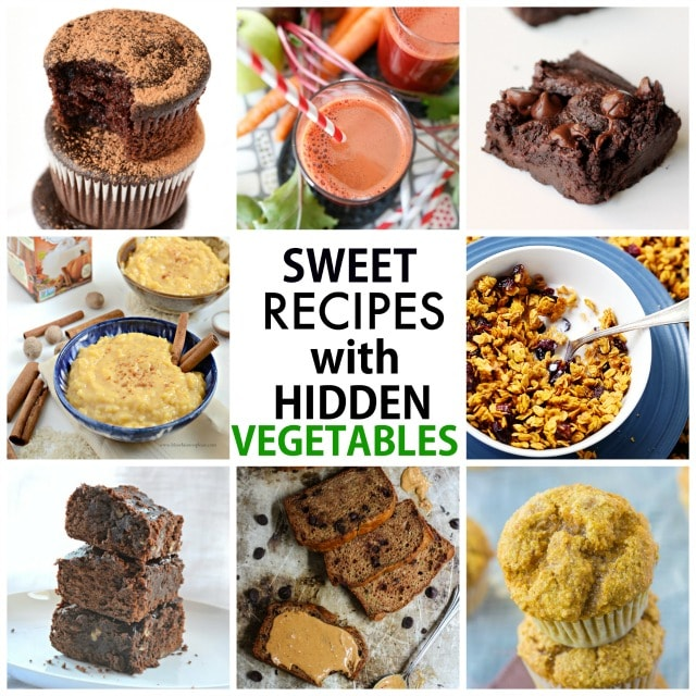 Healthy Sweet Recipes with hidden vegetables! Delicious, sweet recipes which have a vegetable hidden in them! Options for those following a gluten free, vegan and paleo lifestyle! https://www.superhealthykids.com/10-sweet-recipes-hidden-vegetables/