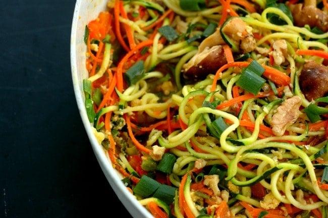 Vegetable Pad Thai - a copycat restaurant favorite!