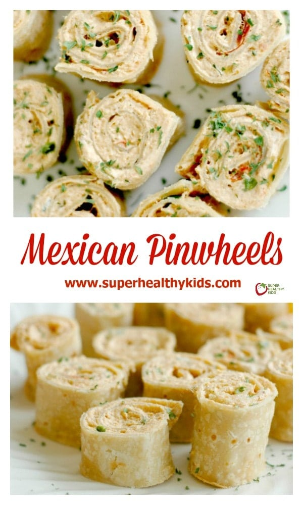 Mexican Pinwheels : Perfect for Quick Lunches, Fun Appetizers, and easy Lunchbox Additions!