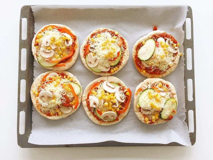 Pita Pizza Easiest Recipe Ever Super Healthy Kids