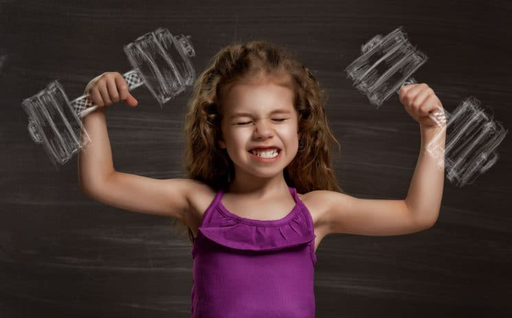 Should kids lift weights for exercise? All about strength training for kids. www.superhealthykids.com
