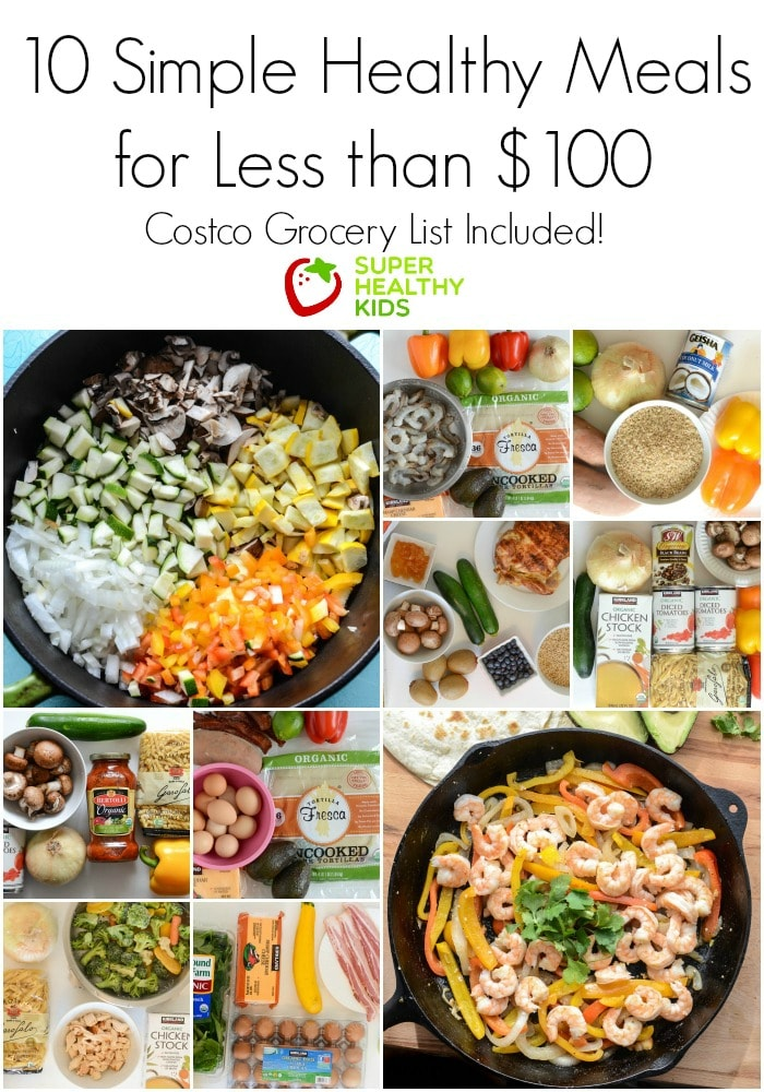 10 Simple Healthy Kid Approved Meals From Costco For Less Than 100