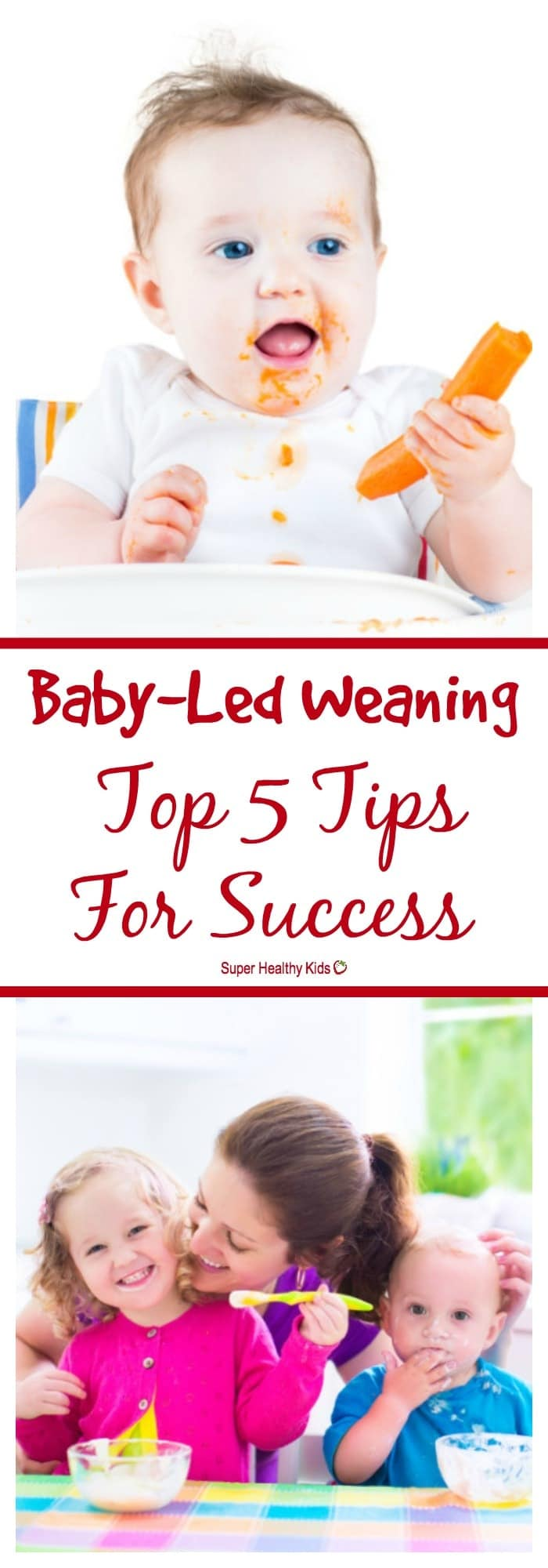 BABY - Baby-Led Weaning: Top 5 Tips For Success. The top tips for successful baby-led weaning, from a dietitian and mom. https://www.superhealthykids.com/baby-led-weaning-top-5-tips-success/